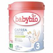 Babybio 3 caprea croissance de 10 mois à 3 ans 800g
