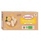 Babybio Petits Biscuits à l'huile essentielle de Citron dès 12 mois 160g