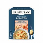 St Jean Risotto gambas safran et parmesan 300g