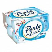 Perle de lait nature 8x125g