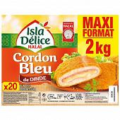 Isla Délice cordon bleu halal pack familial 2 kg