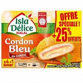 Isla Délice cordons bleu halal + 25% offert 500g