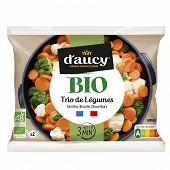D'aucy trio de légumes bio 500g