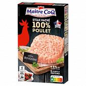 Maître Coq steak haché 100% poulet 400g