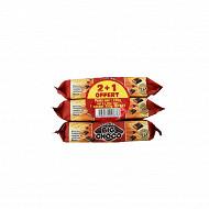 Big choco lot de 3 paquets chocolat noir 250g 2 + 1 offert