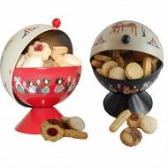 Biscuiterie Hansi sucrier garni de petits gâteaux 300g