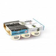 Savoir Yaourt - yaourt plaisir des Alpes nature 6x125g
