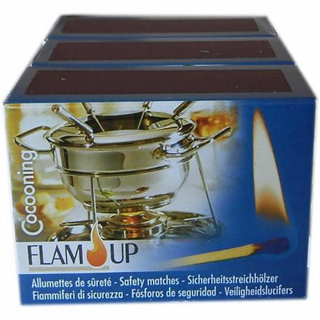 Flam'Up allumettes cuisine Cocooning 3x100