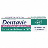 Dentavie dentifrice gencives cosmetic organic 75ml