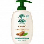 L'Arbre Vert Bien Etre - crème lavante mains amande douce bio 300ml