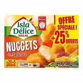 Isla Délice nuggets halal + 25% offert 500g