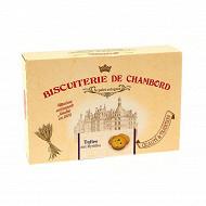 Biscuiterie de Chambord tuiles à la myrtilles 300g