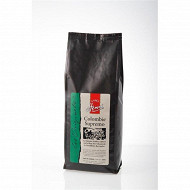 Café colombie supremo grains 500g