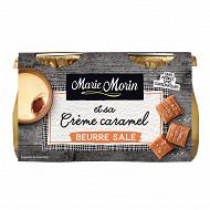 Marie Morin Crème caramel au beurre salé 2x130g