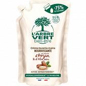 L'arbre Vert Bien Etre - recharge crème lavante argan 300ml