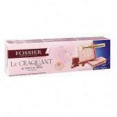 Fossier le craquant au biscuit rose praliné gianduja 170g
