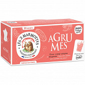 Les 2 marmottes infusion agrumes 100% plantes-39g