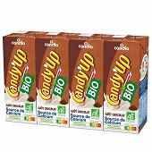 Candy'Up chocolat bio brique 4x20cl