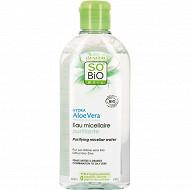 So'bio eau micellaire hydratante tous types de peaux hydra aloé vera 200ml