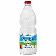 Grandlait lait frais de montagne entier bouteille 2l