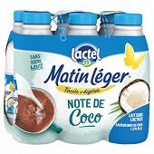 MATIN LEGER DE LACTEL LAIT COCO 1/2 ECREME 6X1L