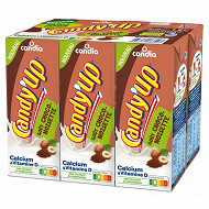Candy'Up goût chocolat noisette brique 20 cl x6