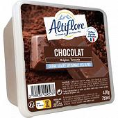Altiflore bac crème glacée artisanale chocolat 750ml - 450g
