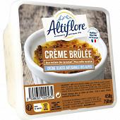 Altiflore bac crème glacée artisanale crème brûlée 750ml - 450g