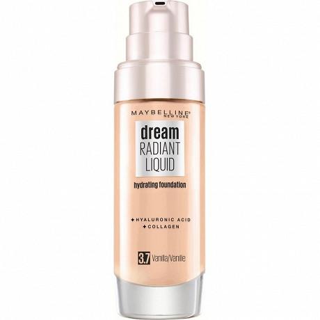 Teint dream radiant fluide fond de teint 3.7 vanille nu