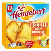 Lu heudebert biscotte goût brioche 290g