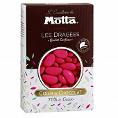 Motta les dragées chocolat fuschia 500g