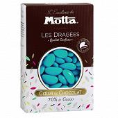 Motta les dragées chocolat turquoise 500g
