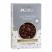 Motta les dragées les classiques couleur chocolat 500g