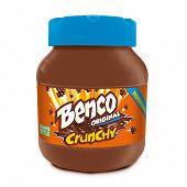 Benco pâte à tartiner original crunchy sans huile de palme 750g