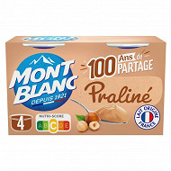 Mont Blanc praliné 4x125g
