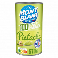 Mont Blanc crème dessert à la pistache 570g