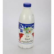 FaireFrance lait bouteille 1/2 écrémé stérilisé UHT 1l