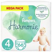 Pampers harmonie langes mega 66ct