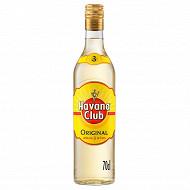 Havana club rhum 3 ans 70cl 37.5%vol