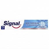 Signal Dentifrice soin fraicheur & blancheur crystal 75ml
