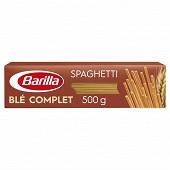 Barilla pates integrale spaghetti n 5 au blé complet 500g