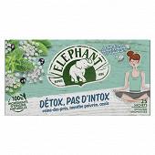 Eléphant infusion detox pas d'intox x20 40g
