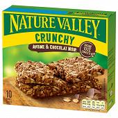Nature Valley crunch avoine chocolat noir 210g