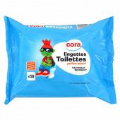 Cora kido recharge lingettes papier toilette enfants x56