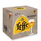 Leffe blonde 12x33cl 6.6%vol