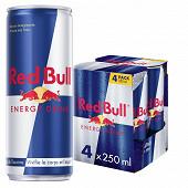 Red Bull boisson energisante gazeuse 4x25cl