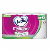 Moltonel papier toilette sans tube x6
