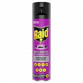 Raid aerosol multi-insectes action rapide 400ml