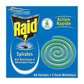 Raid spirale anti moustique