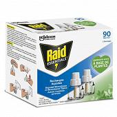 Raid essential recharge liquide répulsif moustiques 2x 45 nuits